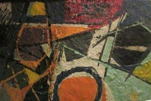 W. Tulli, Senza titolo, 1956, collezione privata